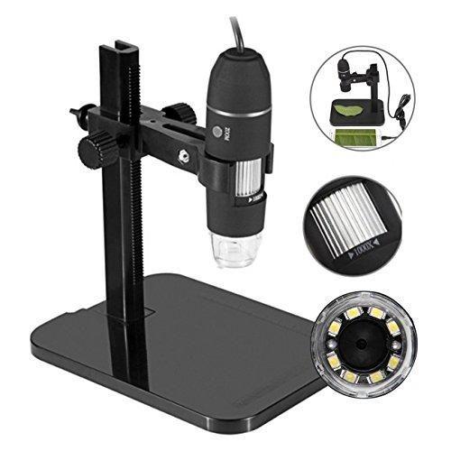 Oferta: 24.99€. Comprar Ofertas de USB Digital Microscopio 1000X de mano 2MP USB Microscopio Lupa de la cámara, construido-8 luces LED, soporte de altura ajusta barato. ¡Mira las ofertas!