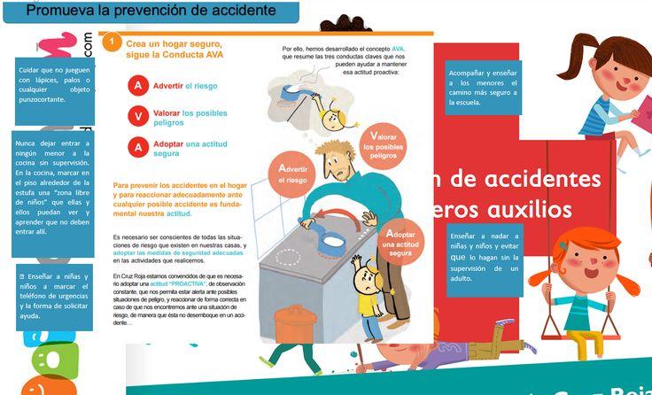 Es importante desarrollar la cultura de prevención de accidentes para que niñas y niños sean capaces de evitarlos.