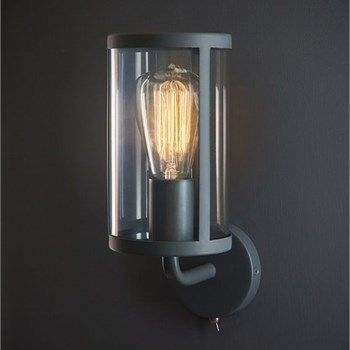 Cadogan Grey Indoor Switched Wall Light