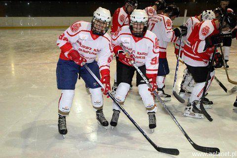 Zabawy zimowe - #hokej na lodzie