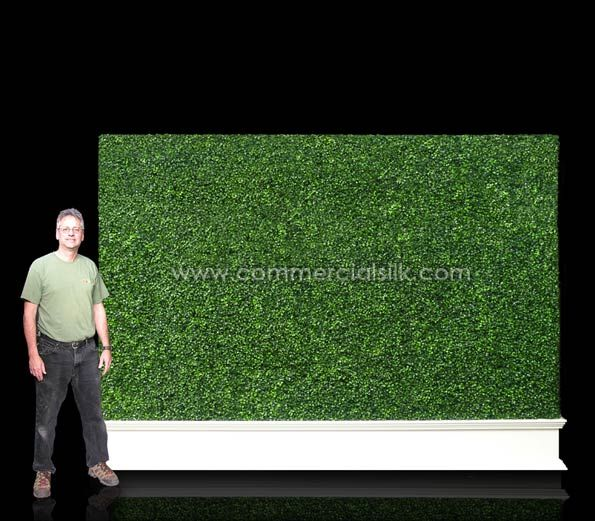 Boxwood Privacy Screen | Artificial Boxwood Privacy Screen - Commercial Silk Int'l