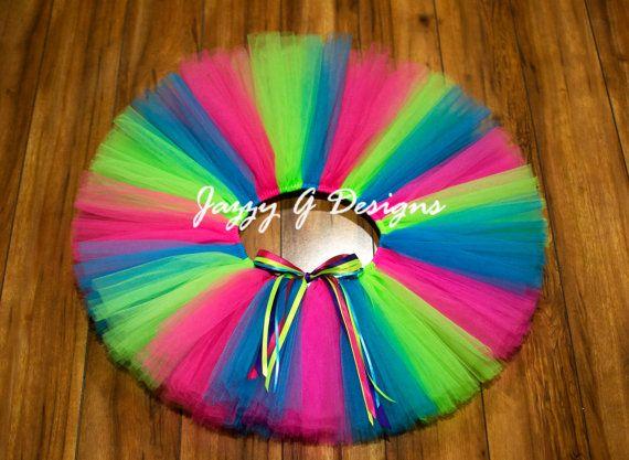 Neon Candy #Tutu #AdultTutu #Nerds #CandyTutu #NeonParty by JazzyGDesigns #KidsTutu #EtsyBaby #BirthdayTutu #RunTutu