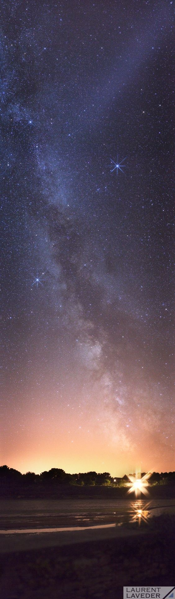 The Milky Way toward South - La voie lactée direction plein sud by Laurent Laveder on 500px