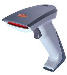 A bar-code scanner is an output device for a computer.