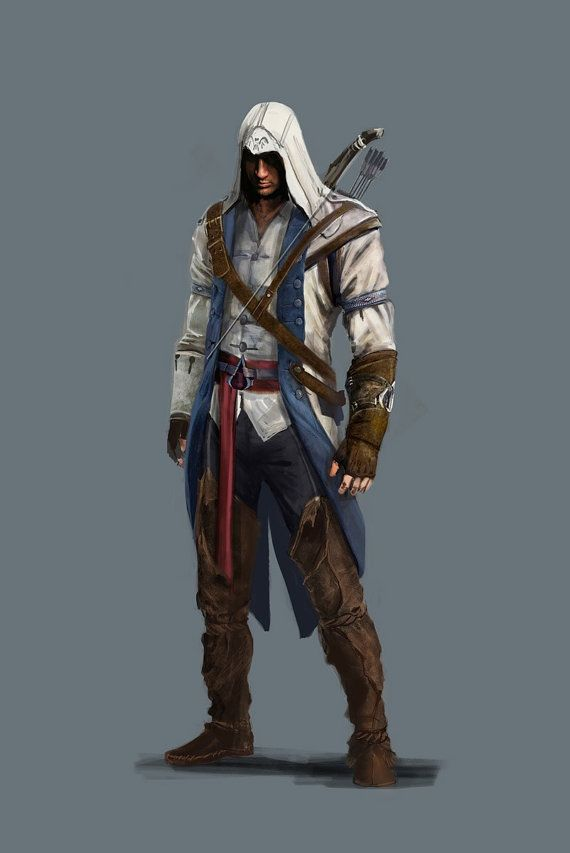 Looking a bit more European here- where them fringes and feathers at? Assassin's Creed 3