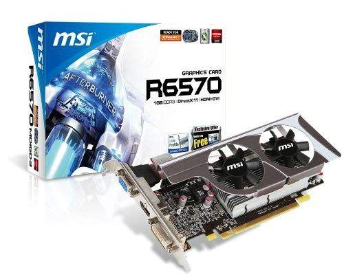 Msi Ati Radeon Hd6570 1 Gb Ddr3 Vga Dvi Hdmi Low Profile Pci Express Video Card R6570 Md1gd3 Lp Review Graphics Cards Cards Video Card