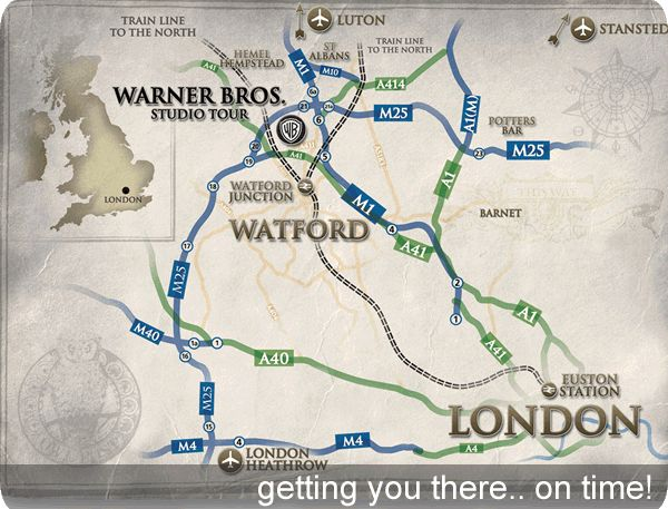 how to get to watford from london