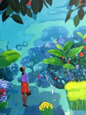 garden-Yearning 1/Lee John-lip - ARTMUSEE::KOREAN ARTISTS' ART SHOPPINGMALL
