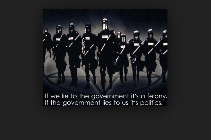 Dit is 1 van mijn grootste waarde om te vechten tegen het politieke beleid die nu aan de gang is. Ik vind dat de laatste jaren de overheid alleen maar meer verzwijgt en dat de gewone mensen veel te veel moeten afgeven waarvoor ze werken.