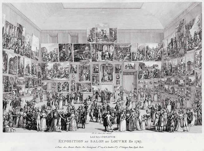 1000 images about salon de paris 1748 1890 on pinterest for Salon du louvres