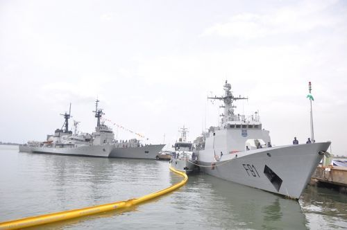 Nigerian Navy's Eastern Naval Command, ENC, has recently expanded its fleet with a new P18N offshore patrol vessel (OPV).  The Navy took delivery of the new vessel, named NNS Centenary (F91), on Friday in Calabar, according to DailyPost Nigeria.  With this vessel the Nigerian Navy will further reinforce its presence in the country's eastern maritime area, keeping the waters safe from oil thieves and pirates.