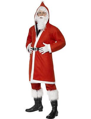 Adult #father #christmas #santa claus suit #christmas fancy dress outfit costume, View more on the LINK: http://www.zeppy.io/product/gb/2/390717228941/