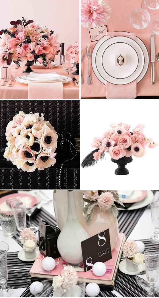 Pink & Black Weddings  