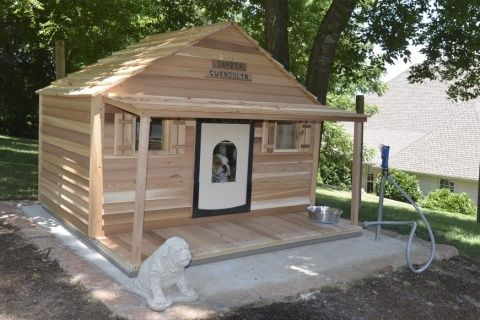 fun backyard air conditioned dog houses - Yahoo Image Search Results
