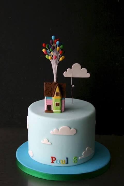 UP! Cake by Sugarplum Cake Shop