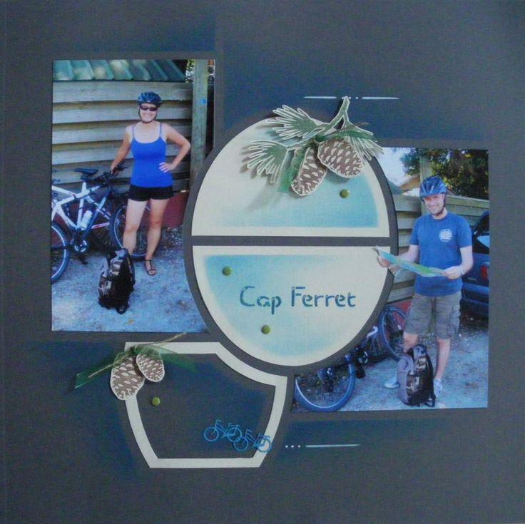 Petit tour de Vélo du côté de la presqu'île de Lège-Cap-Ferret. Direction le Phare... Cap Ferret A bientôt pour la suite de la balade! Et d'ici là, bon scrap à vous!