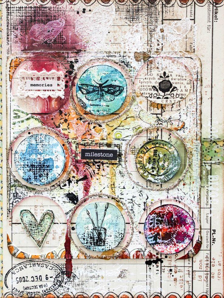 Scrapmanufaktur (Stephanie Schütze) - mail art card