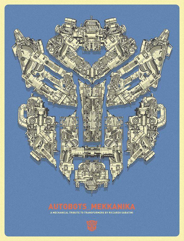 Riccardo Sabatini: Technical Drawings, Typefac Typography, Posters Series, Cool Posters, Transformers Decepticon, Mekkanika Typefac, Italian Design, Riccardo Sabatini, Design Riccardo