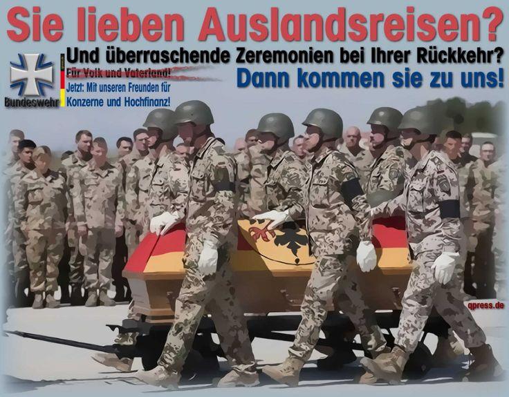 ❌❌❌ Bestimmte Dinge lassen sich ganz einfach Regeln, wenn es um gewaltsame Friedensmissionen der Bundeswehr in aller Welt geht. Dazu muss man sich nur einmal richtig mit der Thematik befassen. Die Peinlichkeit der Volksvertreter, nicht zu wissen wo und in welchen Stärken unsere Bundeswehrsoldat|innen stecken, sollte man ihnen via knapper Ausschlussliste ersparen. Aber auch das muss ein für alle Mal im Bundestag geregelt werden. Wir haben dazu einen Vorschlag. ❌❌❌ #Parlament #Ausschlussliste