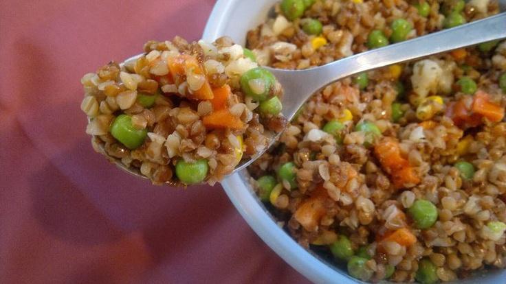 Pohanková zeleninová směs