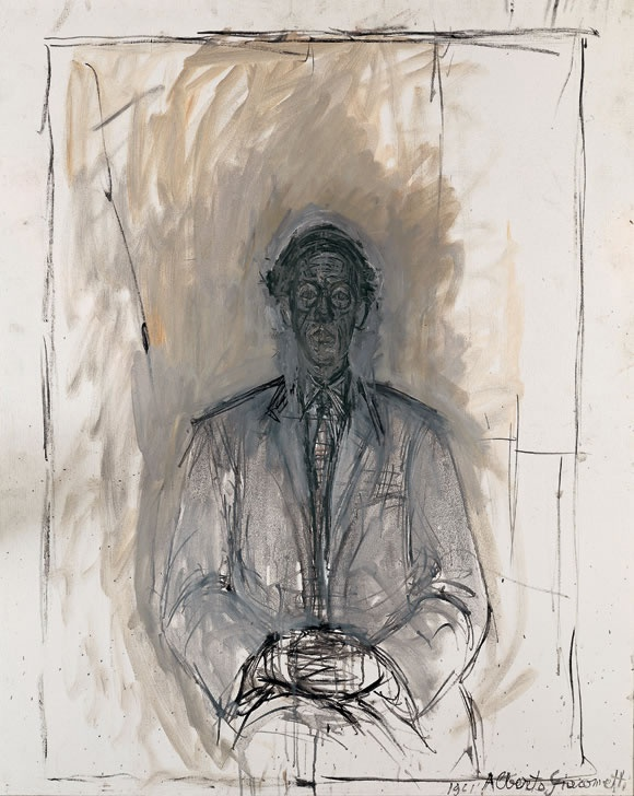 ISAKU YANAIHARA, 1961 Oil on canvas, 100 x 81 cm Photo: Peter Schibli, Basel