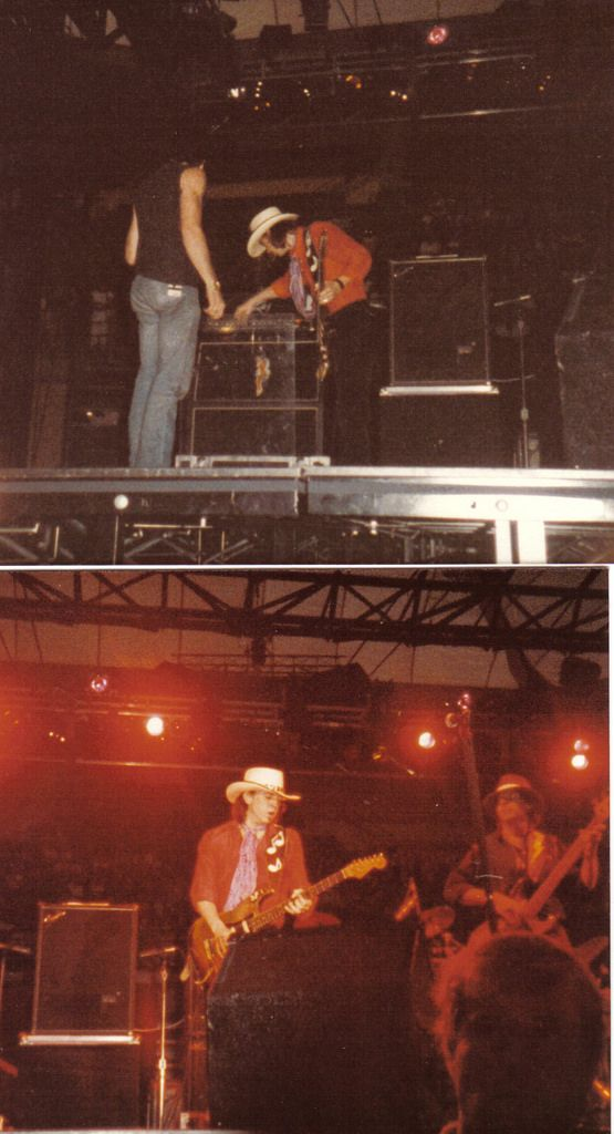 Stevie Ray Vaughan 1986 USF Sundome Open for Huey Lewis & the News ...