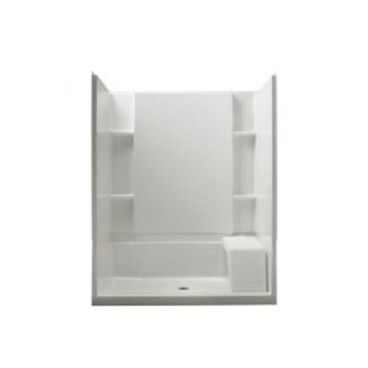 17 best images about small bathroom 60x30 shower on - Walk in shower base kit ...