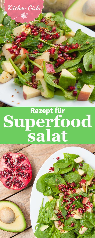 Rezept für den perfekten Superfoodsalat