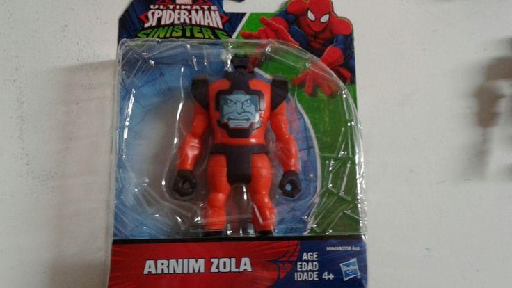 "ULTIMATE SPIDER-MAN SINISTER 6 ARNIM ZOLA 6"" FIGURE #0032 | Toys & Hobbies, Action Figures, Comic Book Heroes | eBay!"