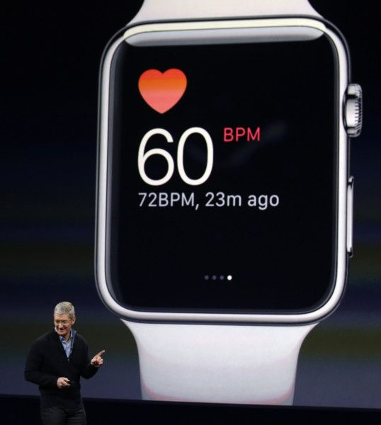 Watch your wallet: Apple's 'wearable tech' will set you back £230.