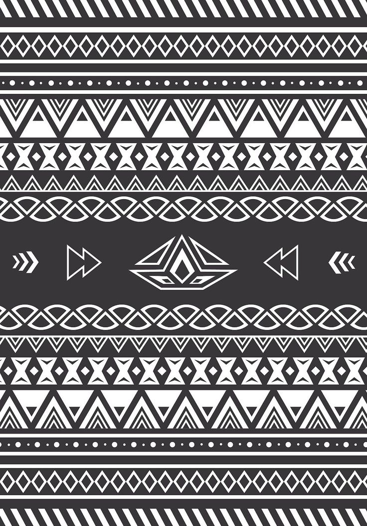 Black And White Pattern Texture Static