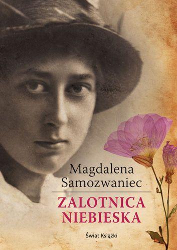 """""""Zalotnica niebieska"""" Magdalena Samozwaniec // W tytule jest kolor // Książkowe wyzwanie 2015"""
