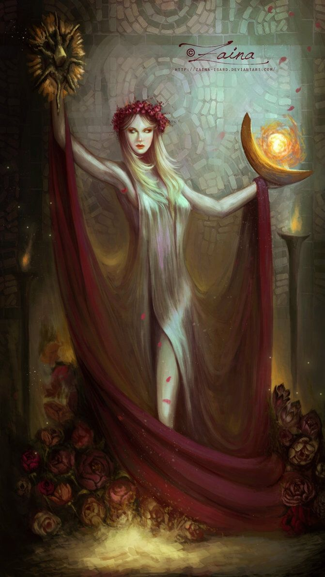 The Elder Scrolls,фэндомы,TES art,Азура,Лорды Даэдра,TES Персонажи,Zaina-Isard
