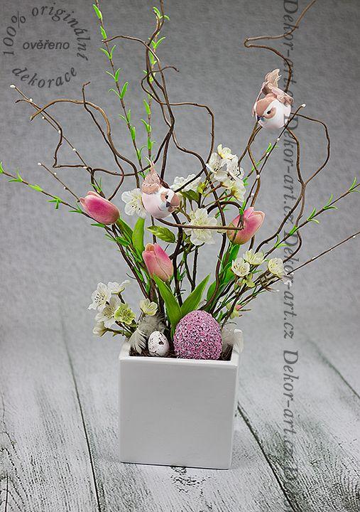 Jedinečný a originální #dekorativní #velikonoční ozdobný bytový prvek.