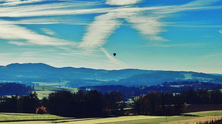 #ballonfahrt #switzerland #landscape_lovers #thurgau #alpen