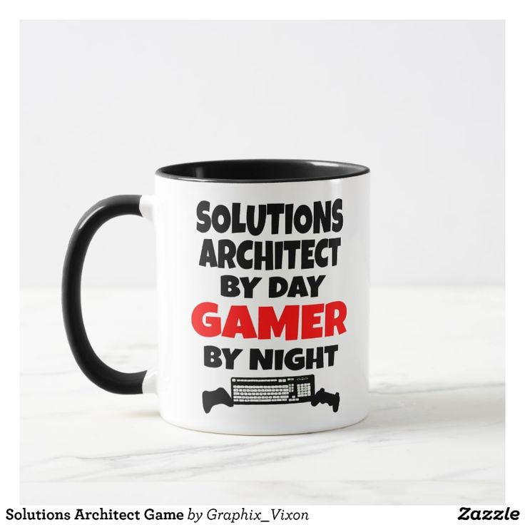 Solutions Architect Game Mug