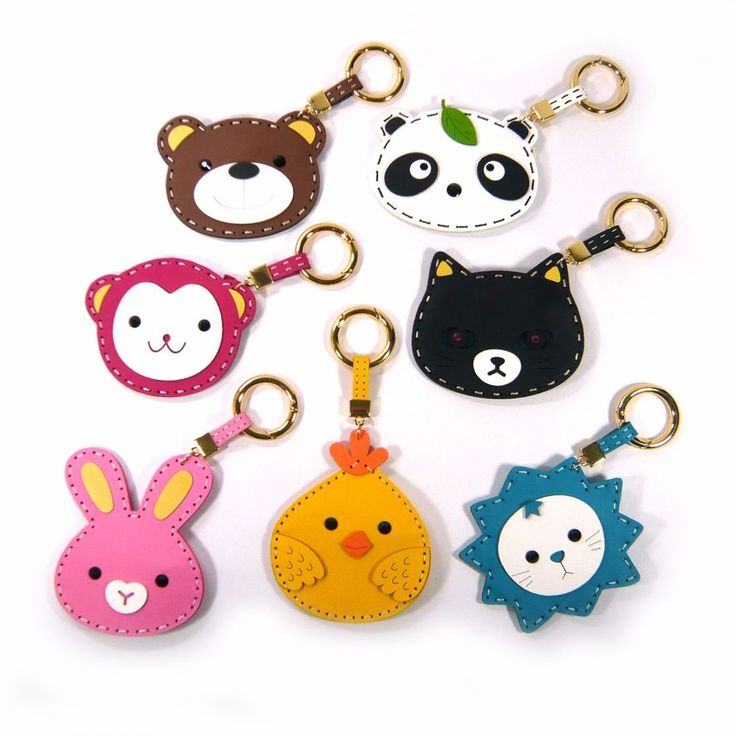 Faux Leather Cute Animal Handbag Bag Charm Accessory Coin Purse Fashion Gift New #Jacc