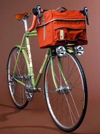 Travel Bicycle - For more great pics, follow www.bikeengines.com