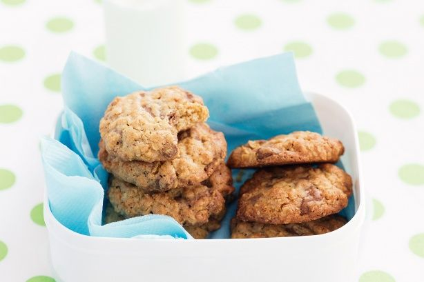 Oat & choc chunk cookies main image