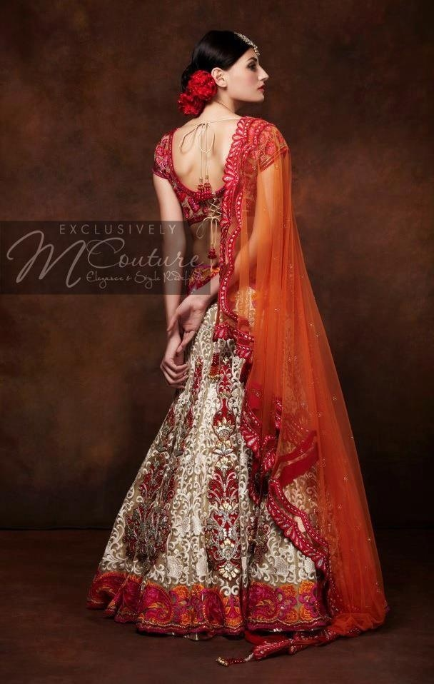 Exclusively M Couture lehenga #lehenga #choli #indian #hp #shaadi #bridal #fashion #style #desi #designer #blouse #wedding #gorgeous #beautiful