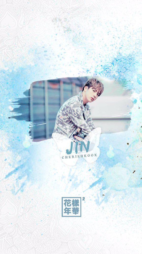BTS    화양연화 Pt.2    Jin wallpaper for phone