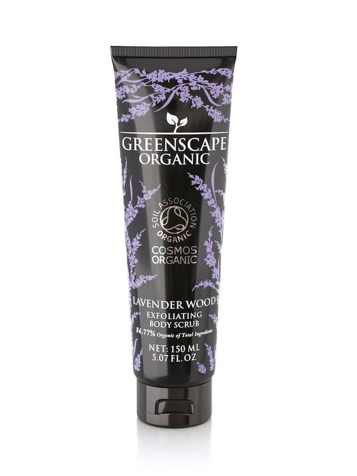 Greenscape Organic Exfoliating Body Scrub comes in four fragrances: Mint & Bergamot, Lavender Wood, Grapefruit & Lime and Rose & Geranium.  We've used organic ground shea nut as a natural exfoliator, and essential oils to nourish the skin.  Organic aloe vera and vitamin E protect the skin while our blend of organic sunflower oil, shea butter, cocoa butter and beeswax provides rich hydration.  High-end, luxury skincare with the official Soil Association COSMOS-standard organic certification.