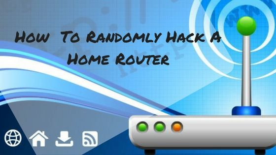 """UPDATE : This Tutorial has been updated on October 28 In thistutorial""""How to Randomly Hack a Home Routers"""", we are going to show you how to use a port scanner to identify home routers (and even office routers :p) and after that, we will try to log in to those routers. In the world, most …"""