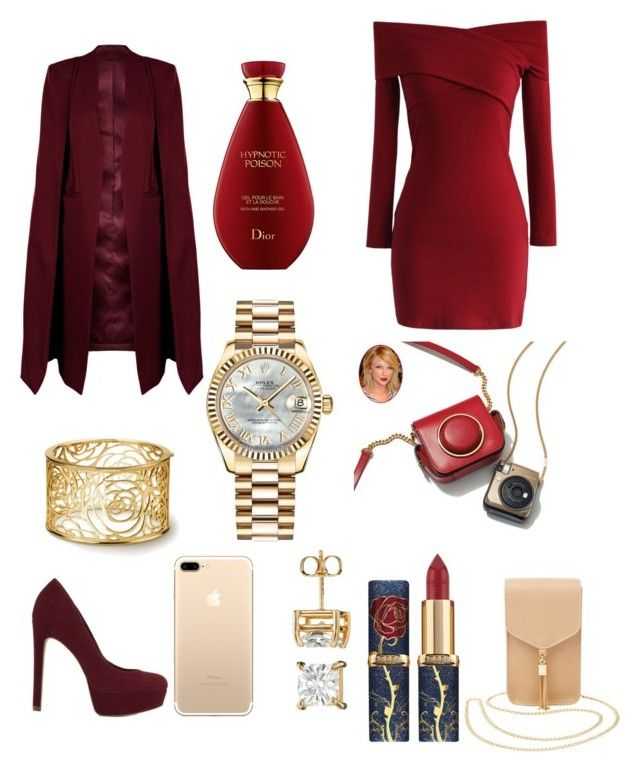 """Great Outfit  for a Good Night  😉😉😉😉😉😉😍😍😍😍😍😍😍😍😍😍😍 #moda #Outfit #rojopasion #pas #seductoras #mujeres #girls"" by elisants on Polyvore featuring ALDO, WithChic, Chicwish, Rolex and Charlotte Russe"