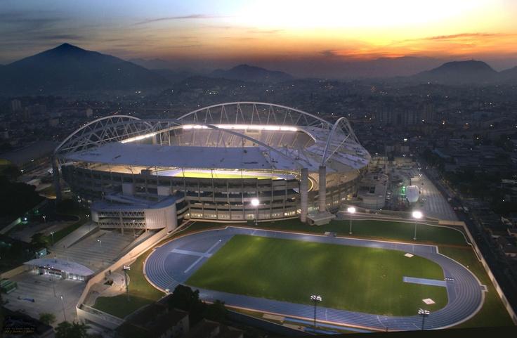 Engenhão soccer Stadium - Rio deJaneiro - Brazil