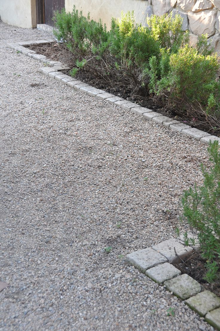 1000 ideas about landscape edging stone on pinterest for Gravel path edging ideas