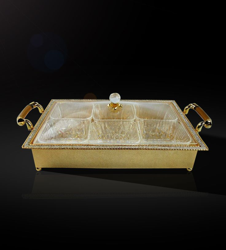 Dry Fruit Holder Rectangle   An elegant piece for your centre table available only at our store.  http://www.thedivineluxury.com/product/Dry-Fruit-Holder-Rectangle.html