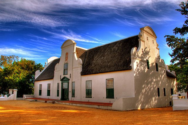 Groot Constantia is the former estate of one of the govenors of the Cape of Good Hope, who introduced wine to the Cape region.