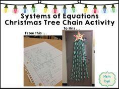 Math Dyal: Christmas in July. Math door decoration