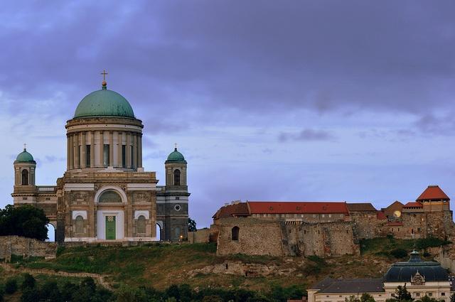 Basilica of Esztergom. (Hungary)